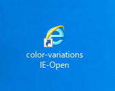 Internet Explorerのアイコン