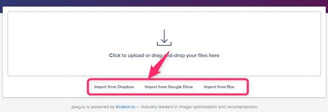 Dropboxなどから画像を選択する