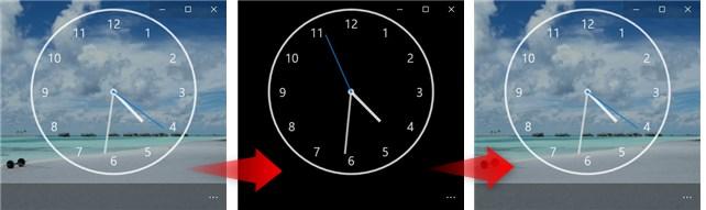 Adjust background opacity の説明画像